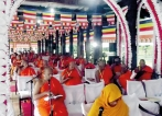 Tripitaka chanting  ceremony by Maha Sangha in Kandy for fifth time