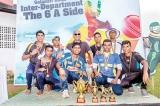 F&B A Team champs at Galadari Cricket 6s