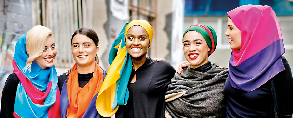 Empowering women through fabric and colour