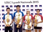 Ravindu and Naduni clinch National Squash titles