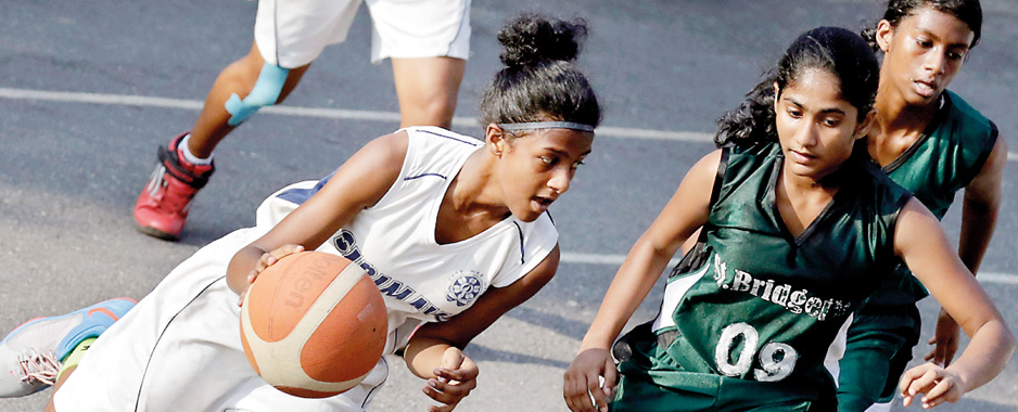 St. Bridget's outsmart Sirimavo Bandaranaike at basketball