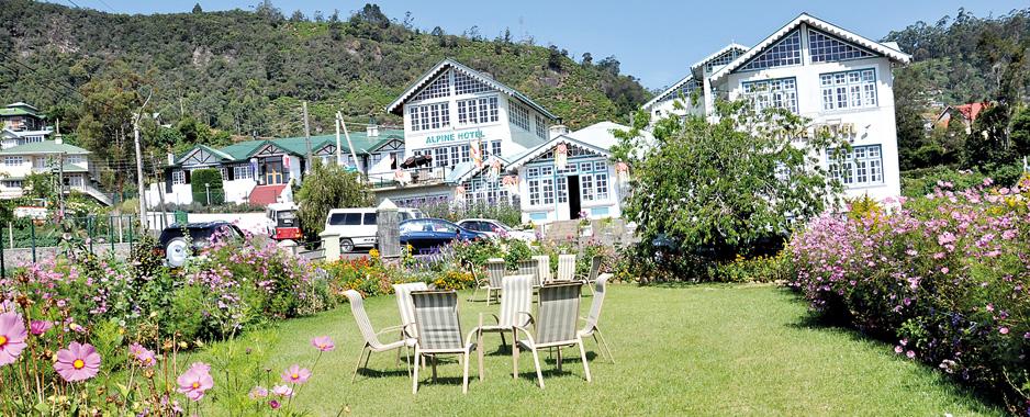 Alpine Hotel :  Creating Colonial era