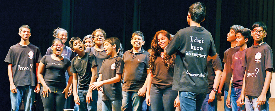 Young thespians at Colombo International School take on 'Skellig'