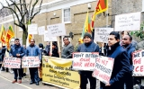 Don't make Lanka an Indian colony: Protest in London