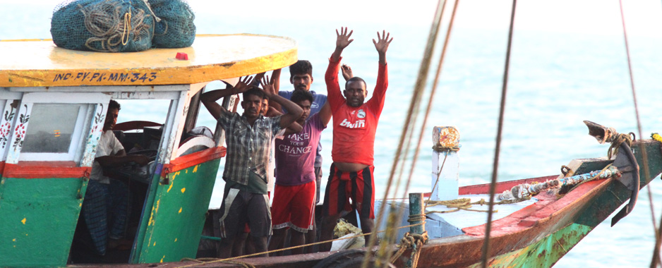 Indian fishermen poach in SL waters, and it is illegal. Period.