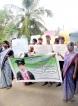 Villagers demand speedy arrest of alleged  rape-murder suspect