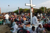 By last night, 7000 Indian and Lankan pilgrims on Kachchativu island