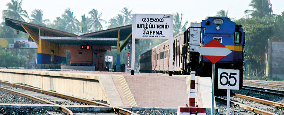 Jaffna Railway Station: On a fast track to success