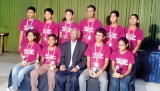 Sri Lankan youth team felicitated for excellent performance at  Scrabble Championship