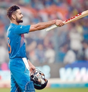 Kohli magic works for India in crucial game against Pakistan