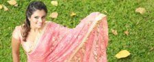Creating her own Designer Sarees