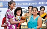 Gateway Colombo protests against Lyceum  International Wattala winning overall title