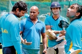Sanath looking to play a straight bat