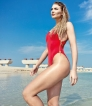 Helpful tips from former Miss  Britain on a 'healthful' holiday