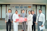Donation of Taekwondo Equipment to the  Sri Lanka Taekwondo Federation by South Korea
