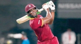 Hitting four successive sixers in international Cricket