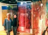 Anoma Wijewardene in Silk Road group exhibition