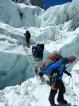Everest Trek blog: Crossing  Khumbu Icefall