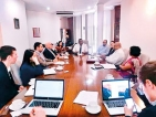 US-based Millennium Challenge Corporation holds discussions with Ceylon Chamber