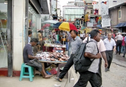 Tax on pavement  hawkers on the cards