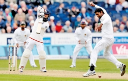 Dropped catches leave Lankans facing uphill task