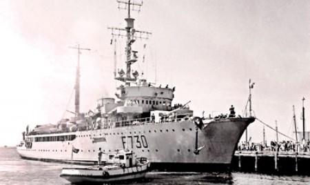 Ceylon Navy's prized 'catch'