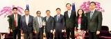 Sri Lankan delegation at  Taiwan's Presidential Inauguration Ceremony
