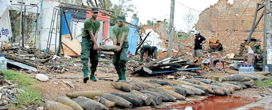 It rained mortars, artillery shells and RPGs