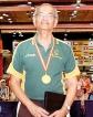 Dr Buddy Reid Over-75 World TT Champ