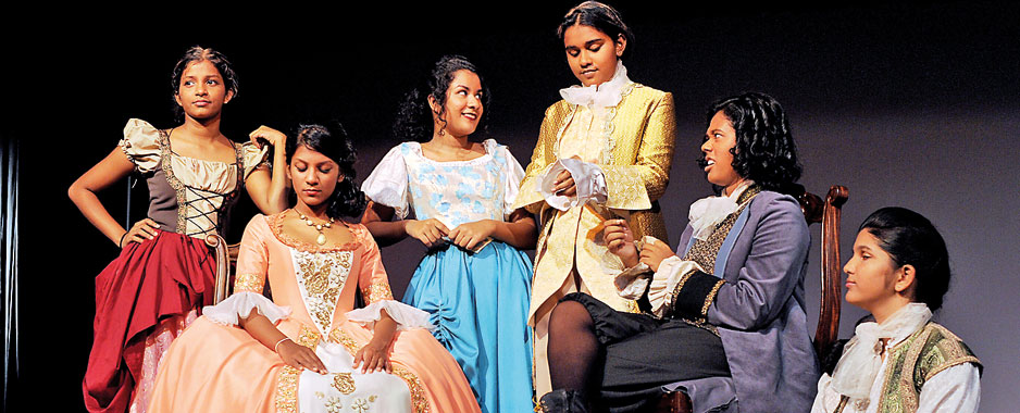 Visakha gearing for 'Candide'