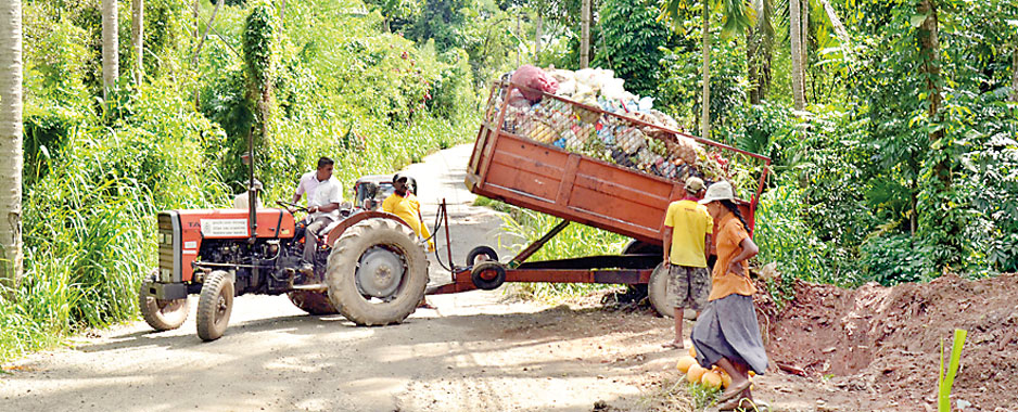 Drowning in waste: Garbage problems out of control
