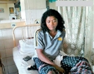 Olympic Silver medalist Susanthika returns home from hospital, following assault