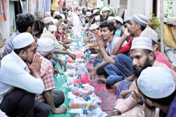 Inter-religious spirit at Ifthar