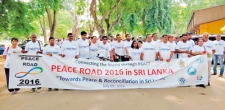 Marching on the 'Peace Road'