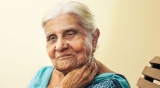 Threading the many strands of her life at 85