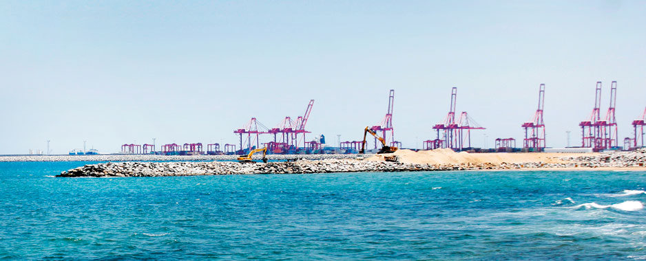 Colombo Port (Financial) City; Govt. swings into action