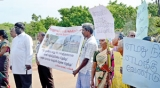 No Navy pirating of our land, say Mullaitivu residents