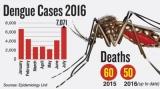 Dengue cases zoom, but officials predict decline