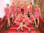 Revlon Miss Sri Lanka for Miss Universe contestants in Kandy
