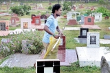 Ex-National Football Captain now a grave digger  at  37