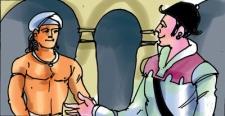 Prince Vijayapala embraces Christianity