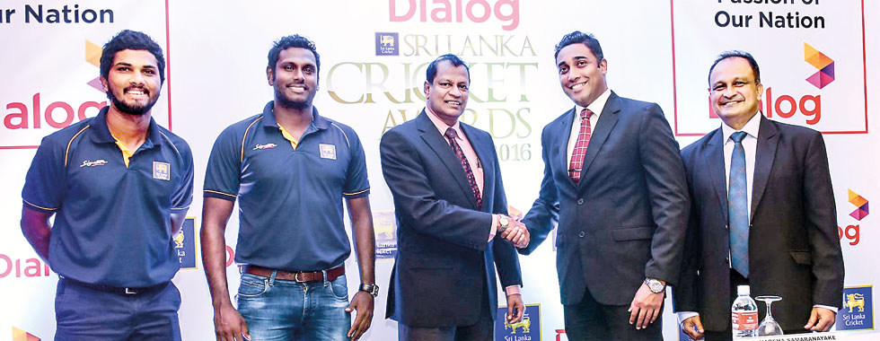 The Dialog Sri Lanka Cricket Awards 2016,