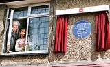 Freddie Mercury honoured with blue plaque at family home