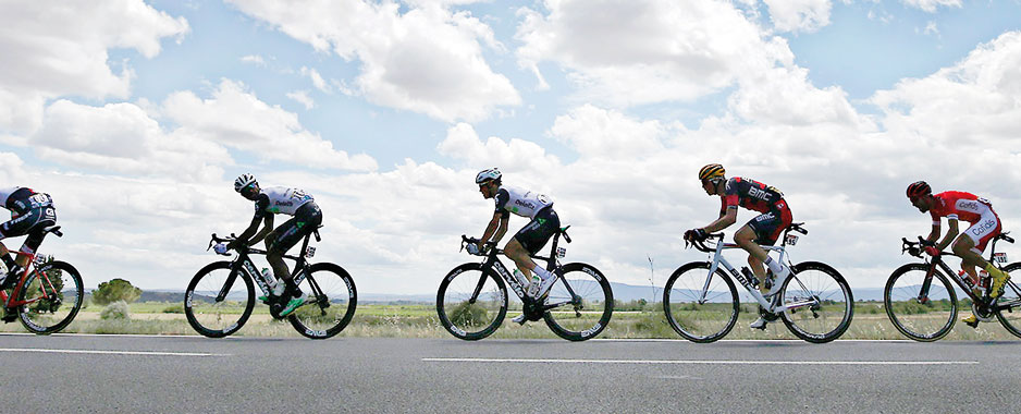 Cycling needs to be  peddled as a national sport