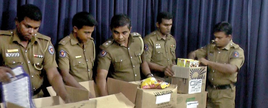Kalutara Police sleuths crack code, nab supermarket robbers