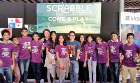 Young 'word-makers' on  a roll on world stage