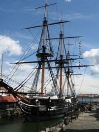 The voyage of HMS Trincomalee through the ages
