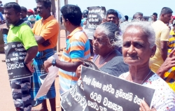 Fresh protests over Colombo Port City