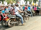 Public get a bellyful of endless street demos