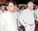 President, UNP discuss crisis at late night meeting: Sirisena vows no one can topple Government